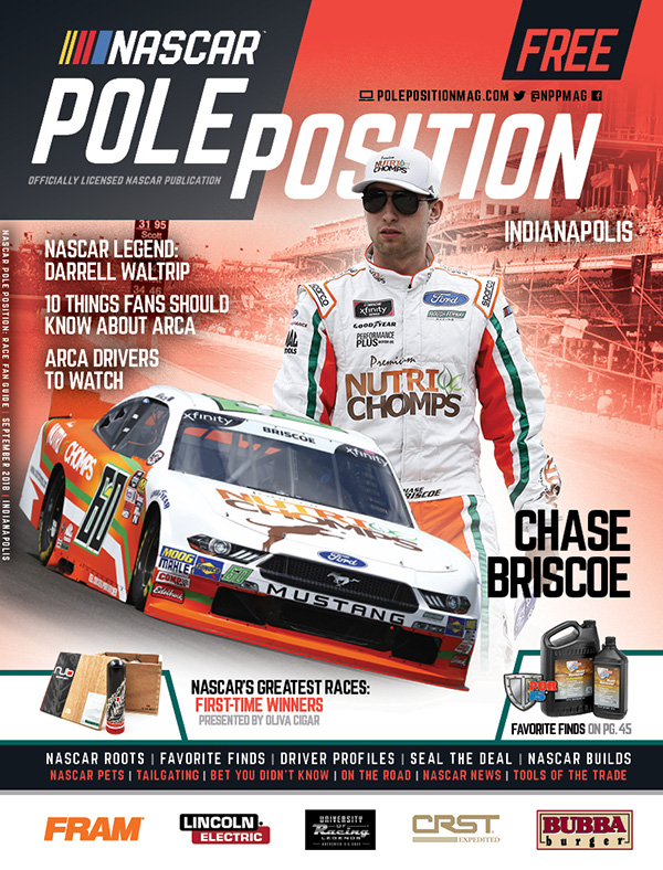 NASCAR Pole Position Indianapolis September 2018