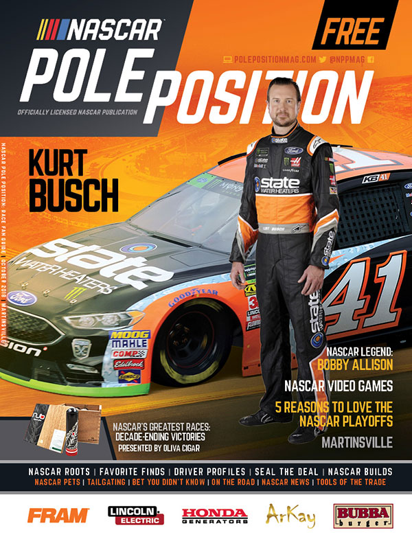 NASCAR Pole Position Martinsville in October 2018