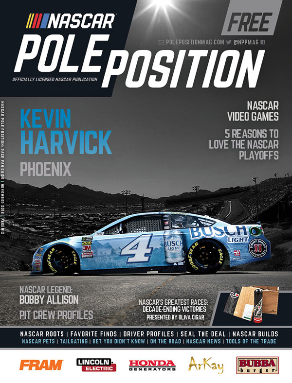NASCAR Pole Position Phoenix in November 2018