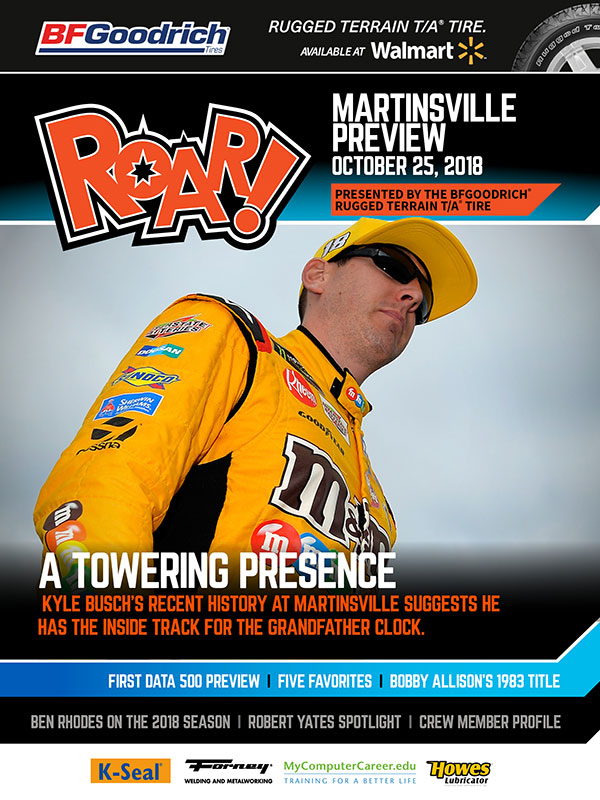 ROAR Martinsville Preview October 2018