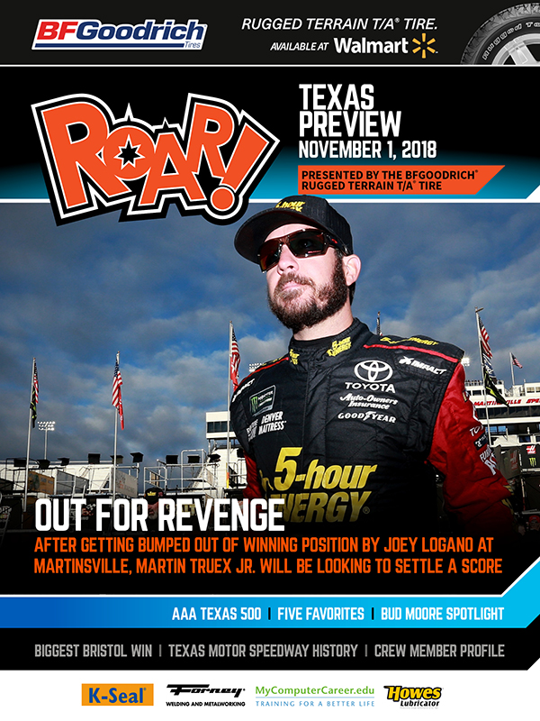 ROAR Texas Preview November 2018