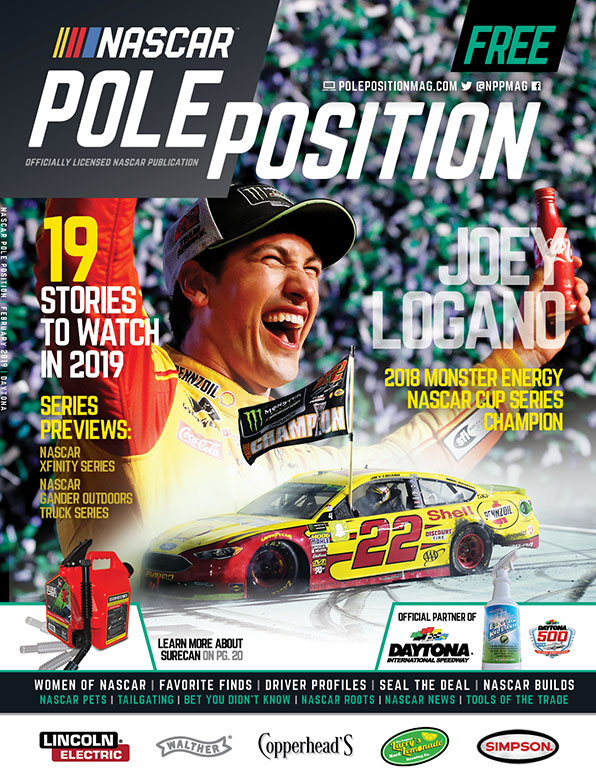 NASCAR Pole Position Daytona February 2019