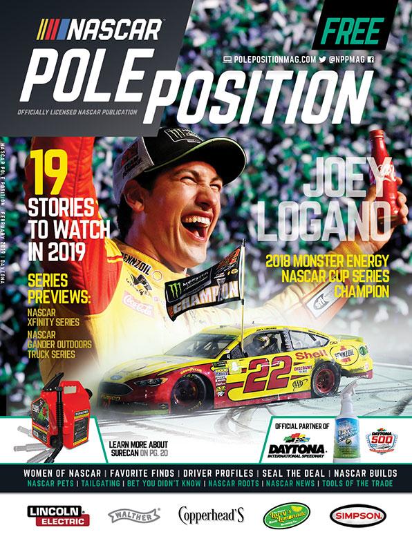 NASCAR Pole Position Daytona in February 2019