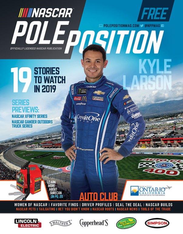 NASCAR Pole Position Auto Club in March 2019