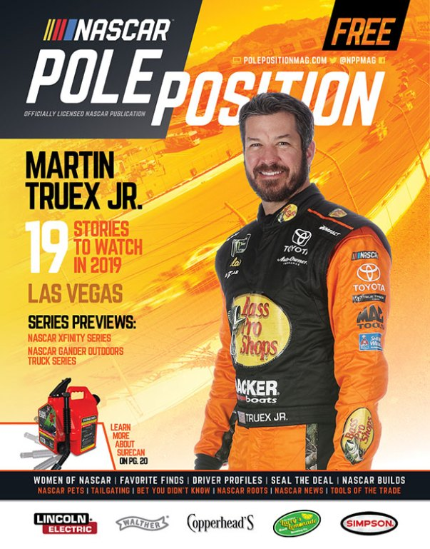 NASCAR Pole Position Las Vegas in March 2019