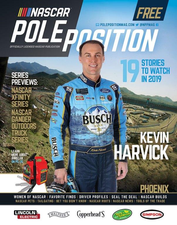 NASCAR Pole Position Phoenix in March 2019