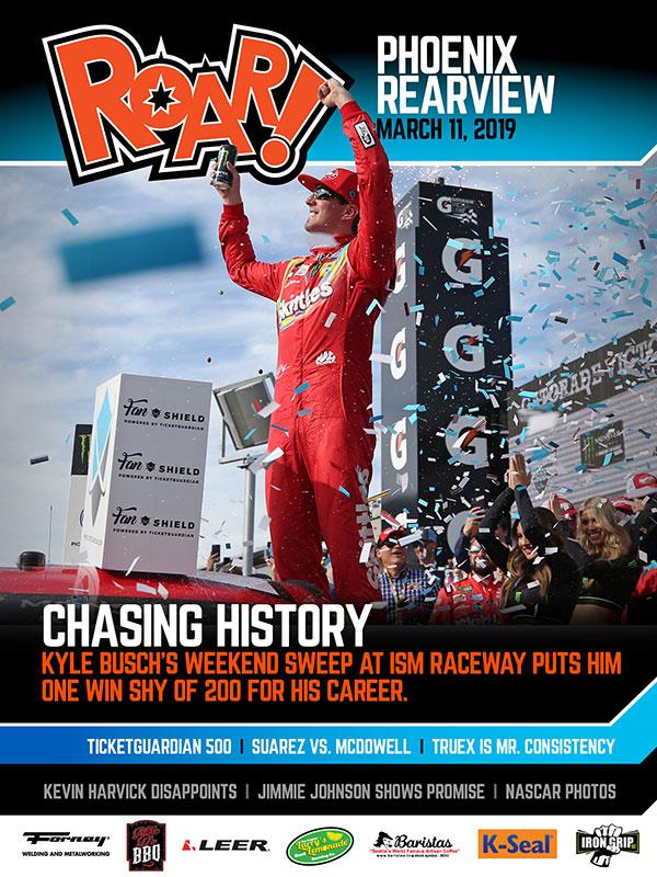 ROAR! Phoenix Race Weekend Rearview March 2019