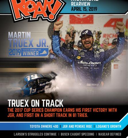 ROAR! Richmond Race Weekend Rearview April 2019