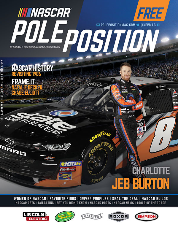 NASCAR Pole Position Charlotte in May 2019