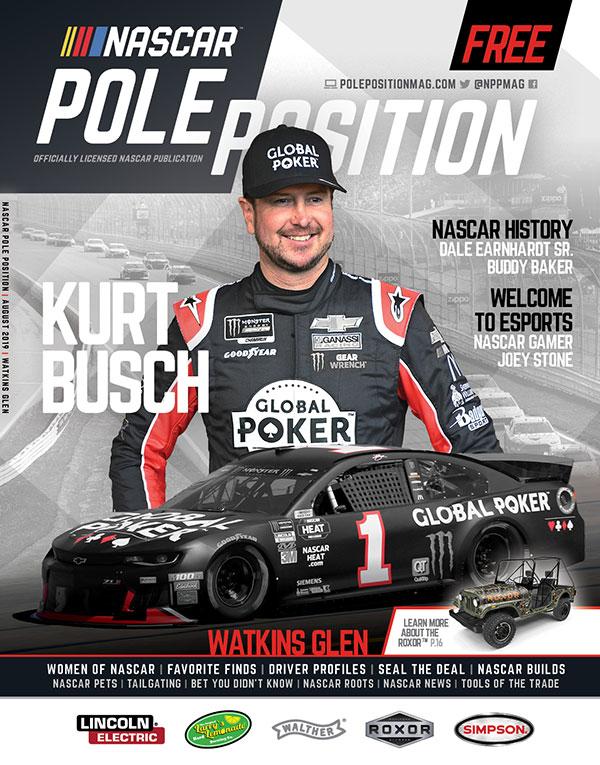 NASCAR Pole Position Watkins Glen in August 2019