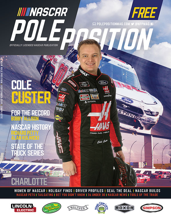 NASCAR Pole Position Charlotte September 2019