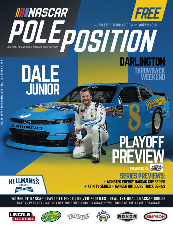 NASCAR Pole Position Darlington in September 2019
