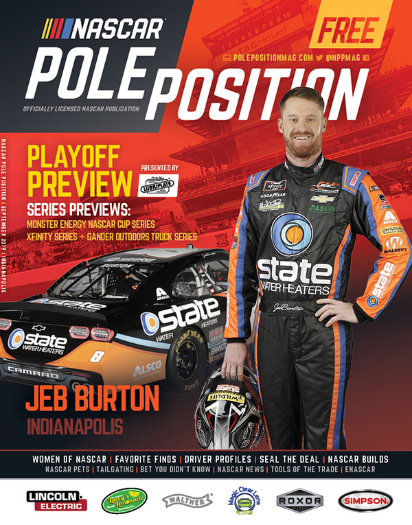 NASCAR Pole Position Indianapolis September 2019