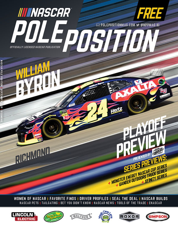 NASCAR Pole Position Richmond in September 2019