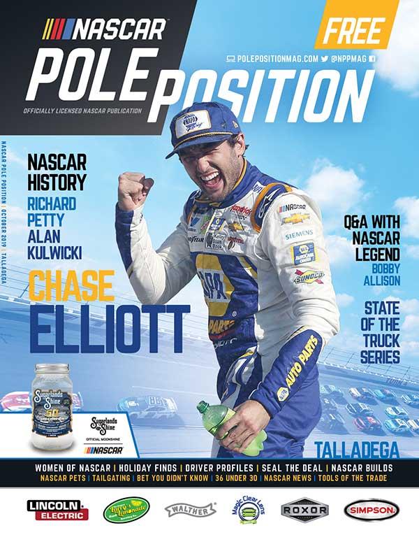 NASCAR Pole Position Talladega in October 2019