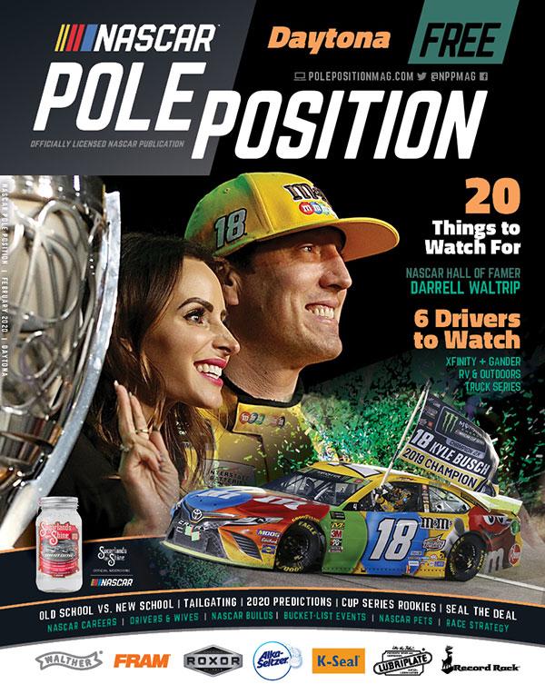 NASCAR Pole Position Daytona in February 2020