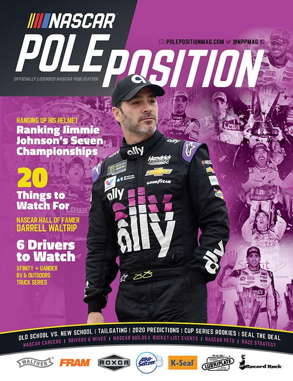NASCAR Pole Position Feb/March 2020