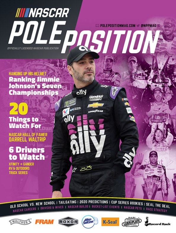 NASCAR Pole Position Feb/March 2020