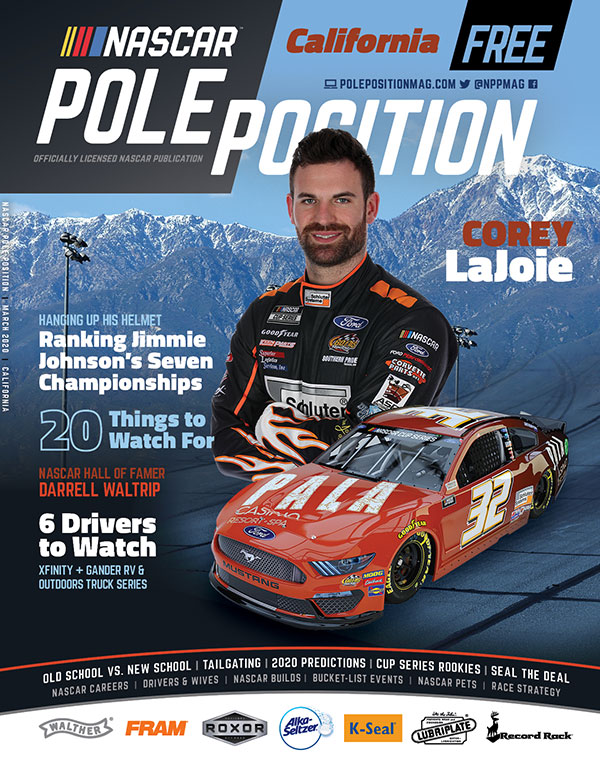 NASCAR Pole Position Auto Club in March 2020
