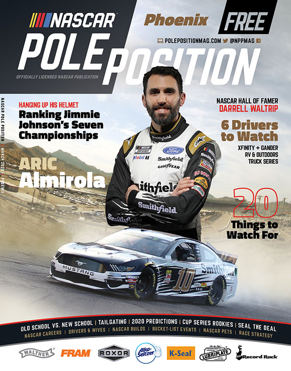 NASCAR Pole Position Phoenix in March 2020