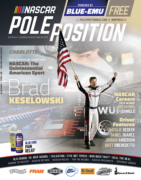 NASCAR Pole Position Charlotte in May 2020