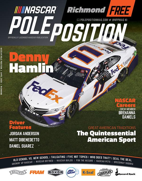 NASCAR Pole Position Richmond in April 2020