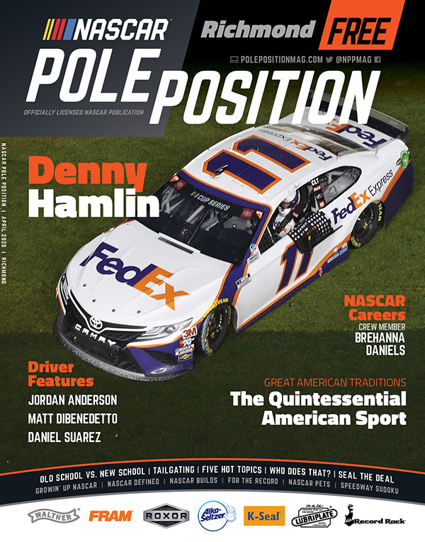 NASCAR Pole Position Richmond in April 2020