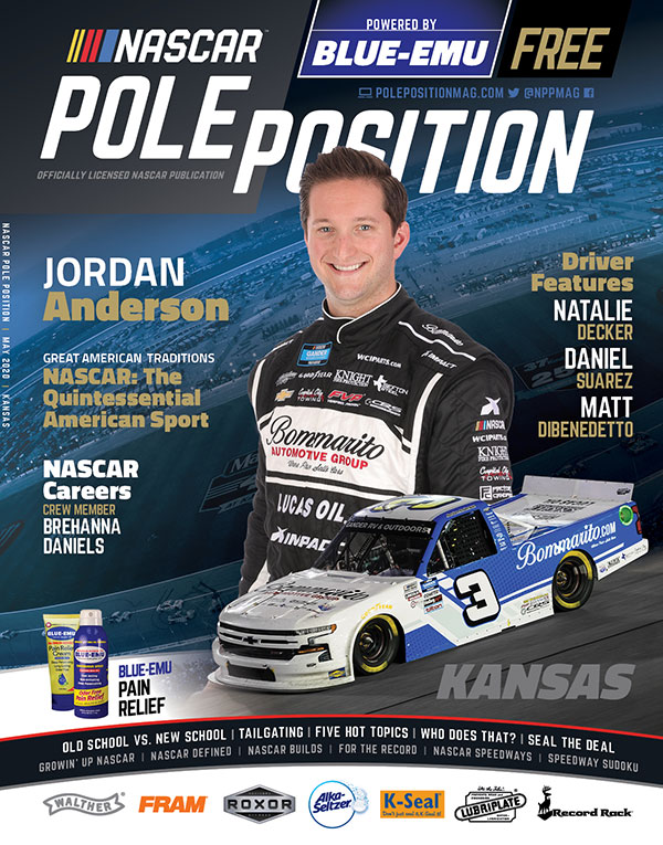 NASCAR Pole Position Kansas in May 2020