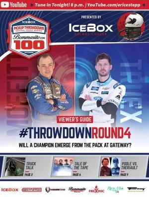 ROAR Pickup Throwdown Viewers Guide eSports iRacing Truck Series Bommarito.com 100