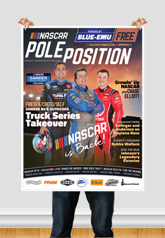 NASCAR Pole Position Chicago in June 2020