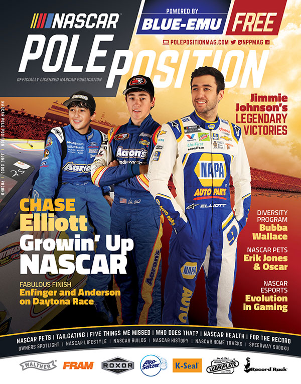 NASCAR Pole Position Pocono in June 2020