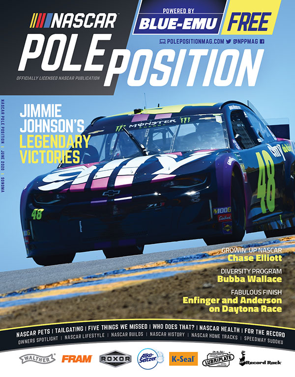 NASCAR Pole Position Sonoma in June 2020