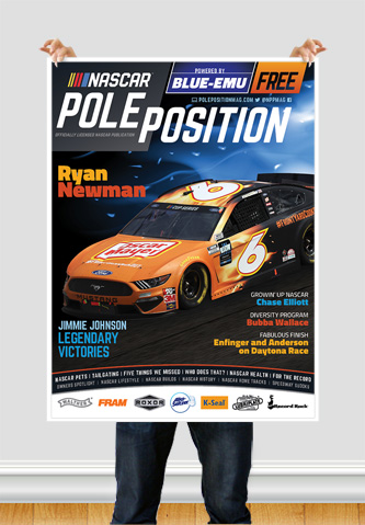 NASCAR Pole Position Indianapoli in July 2020