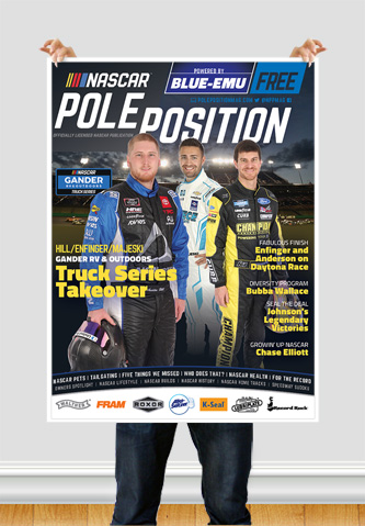 NASCAR Pole Position Kentucky in July 2020