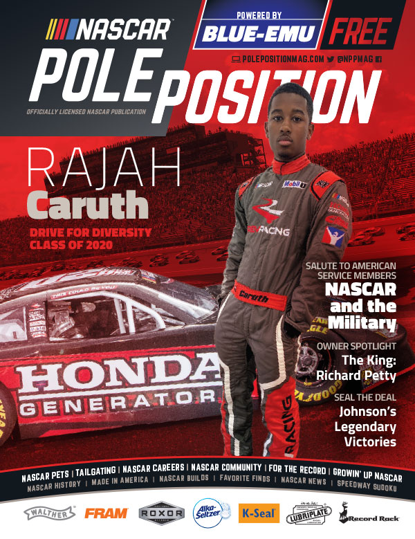 NASCAR Pole Position Aug/Sep 2020