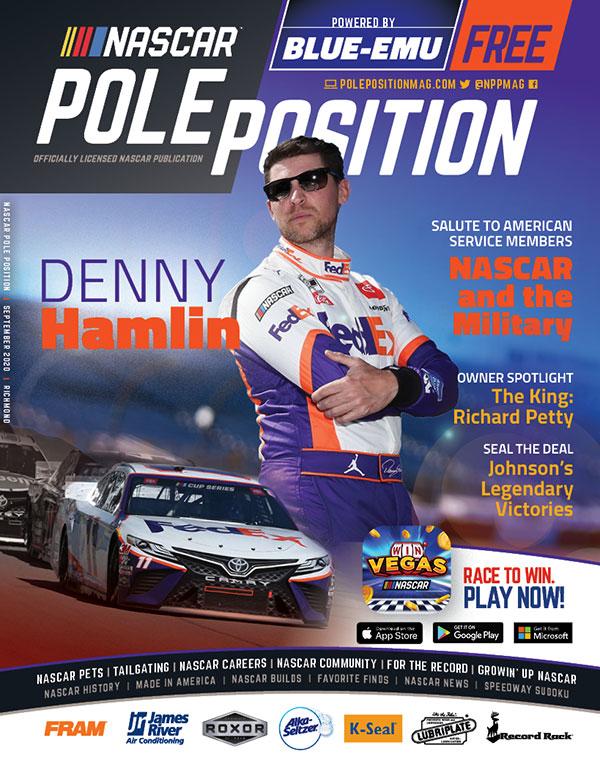 NASCAR Pole Position Richmond in September 2020