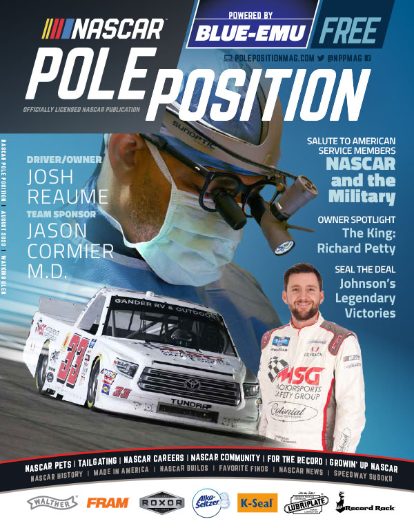 NASCAR Pole Position Watkins Glen in August 2020
