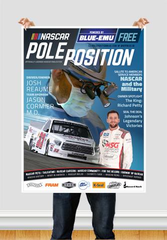 NASCAR Pole Position Watkins Glen in August 2020