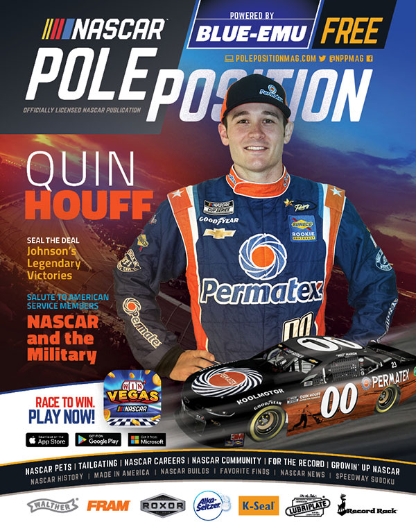 NASCAR Pole Position Darlington in September 2020