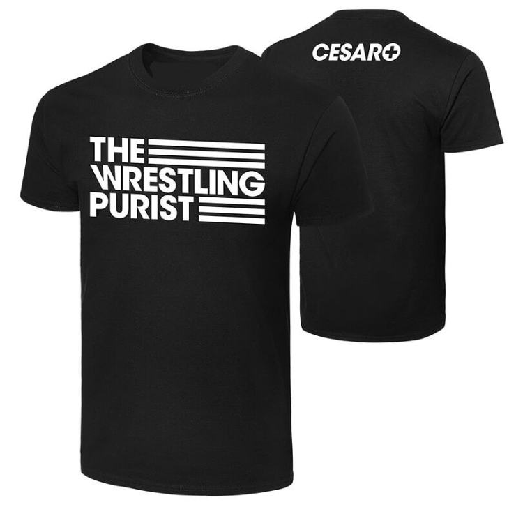 "Polera Cesaro ""The Wrestling Purist"" - PoleraZ"