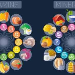 витамины и минералы зимой