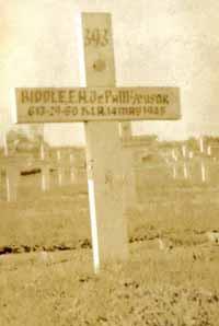 Biddle Original Grave