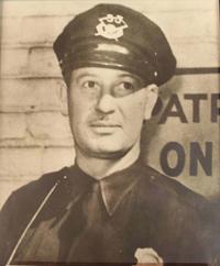 Motorcycle Patrolman Robert Leigh