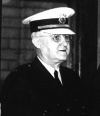 Captain George Dooley as a Lieutenant