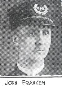 Patrolman John A. Franken  Cincinnati Police Department