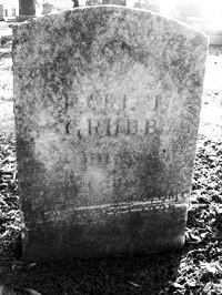 Substitute Patrolman Earl John Grubb's grave site