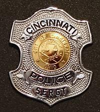 Sergeant Charles F. Handorf's badge