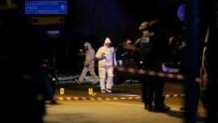 police scientifiques attentats scène de crime
