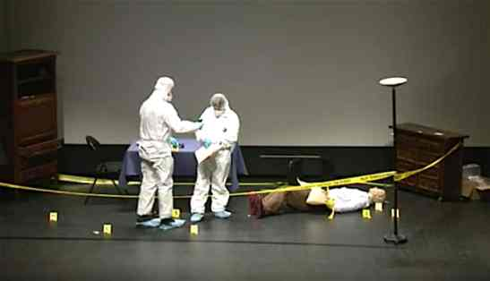 gestion scène de crime principes locard kirk