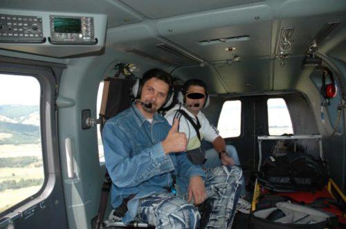 police scientifique hélicoptère